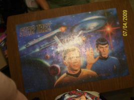 puzzle star trek by CaptainBarringer