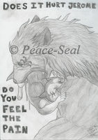 .::Does it hurt Jerome::. by Peace-seal