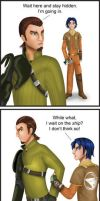 Star Wars Rebels - I Can't Lose You Again by Dawnchaser