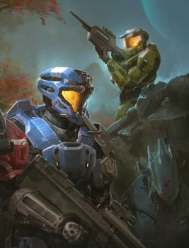 Halo Commission for Mike Jenkins by TDSpiral
