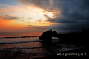 Pura Sunset by adjieguswara-art