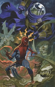 Spider Man battles Mysterio by ChristopherStevens