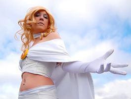Emma Frost - Feel My Power... by Kukuzilla