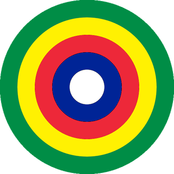 Tripartite Empire Roundel (What Madness Is This) by ZemplinTemplar