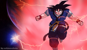 SON GOKU ABSALON by salvamakoto