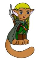 Elven Kitty by moley