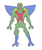 Martian Manhunter Redesign by Hartter