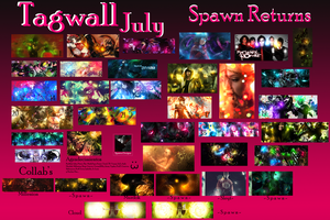 TagWall July by Spawn-Designs