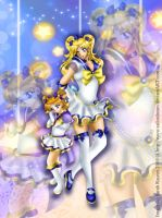 GIFT: Sailor Celestial + Chibi by SailorDream