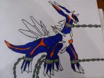 Chained Dialga COLORED 2 PART by KunYKA
