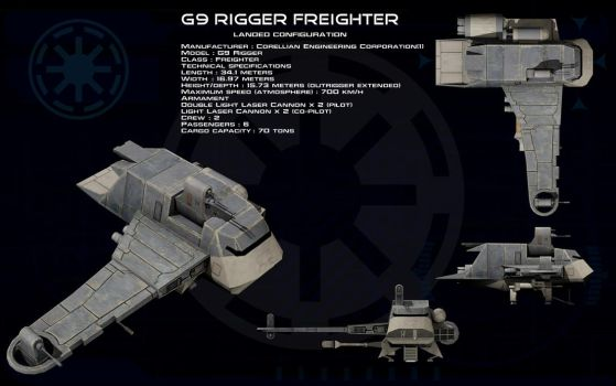 G9 Rigger Landed ortho by unusualsuspex