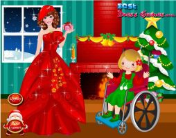 BARBIE CHRISTMAS WITH KIDS by kute89