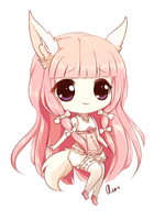Commission: Ariatte (Chibi) by Aoi-Azami