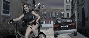 AOD Lara Croft riding a bike02 by Raimondsy