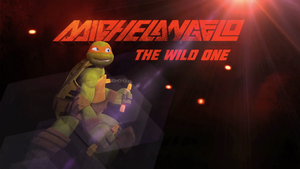 Michelangelo: The Wild One by Brandatello