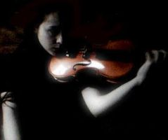The violin by melpomene6