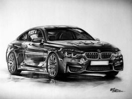 BMW M4 - great car by CorinaO