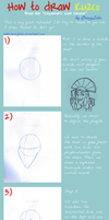 How to draw Kuzco by CrazyLulu