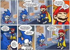 NGamer comic 4: The Hedgehobo by captainaugust