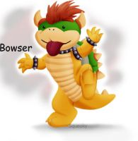 Bowser Luff by Squeaky-Pinky
