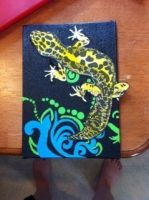 Mixed Media ~ Leopard Gecko by Sheori22