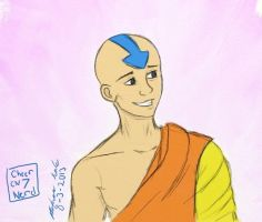 Aang by cheernerd7