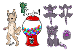 Variety Gachas OPEN by LarvalAdopts