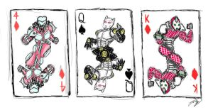 Jojo Stand Playing Cards by Jo3-R6e