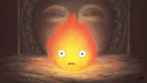 Calcifer - From Howl's Moving Castle The Movie by Kelsa20