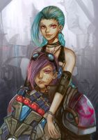JINX AND VI by FelaL