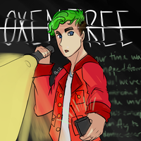 OXENFREE - jacksepticeye by FrostedHope12