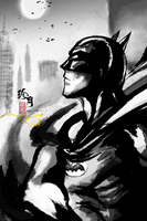 The Batman by zhenyue