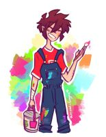 Overalls! art questions! by arrival-layne