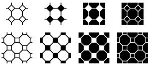 Eight Corners Patterns by wuestenbrand