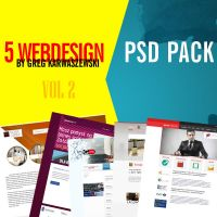 Greg Karwaszewski - 5 psd pack vol 2 by majareq