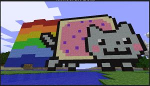 Minecraft: NyanCat by CompleteChaos21