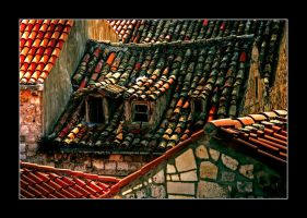 Rooftops of Dubrovnik by northernmonkeyz