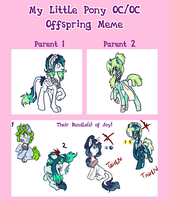 My Little Pony Oc Oc Offspring auctions CLOSED by Sarahostervig