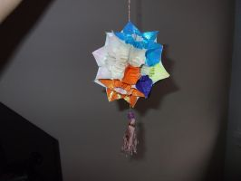 Kusudama Butterfly Ornament by Seraphim-Sisters