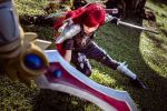 Katarina and Garen Cosplay by Akira0617
