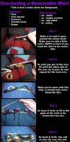 Removable Shirt Tutorial by Geisha-Neko