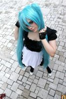 Miku Hatsune Maid by BloodyMeg