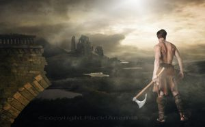 the warrior by PlacidAnemia