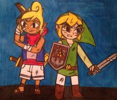 We fight together by angry-toon-link