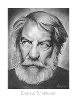 Donald Sutherland by gregchapin