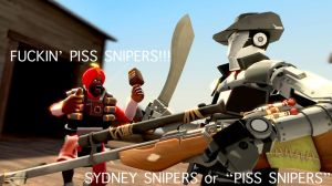 PISS SNIPERS! by Halcoon-145