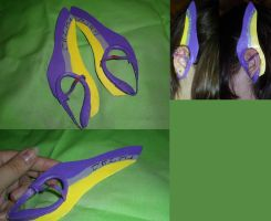 Cosplay Craft: Faize Ear Cover by KunoichiAyu