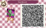 AC: New Leaf QR Code: Gardevoir by GamefreakDX