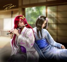 The sound of morning by RamaChan