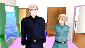 [MMD] Only Sweden knows the password! [Video] by PikaBlaze